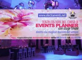 Diventa Events Planner