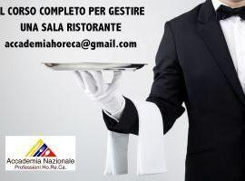 Corso Professionale per Cameriere di Sala / F&B Assistant Manager Pescara - Corsi cameriere Pescara