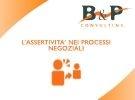 Corso di negoziazione torino - l'assertività nei processi n