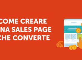 Come Creare una Sales Page che Converte