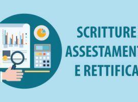 Scritture assestamento e rettifica