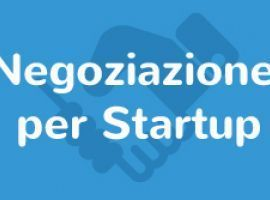 Tutorial Negoziazione per Startup