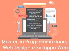 Master in Programmazione, Web Design e Sviluppo Web