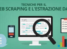 Tecniche per il web scraping e l'estrazione dati
