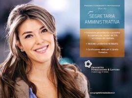 Formazione Professionale per Segretaria Amministrativa e Contabile con Tirocinio Lavorativo Retribuito