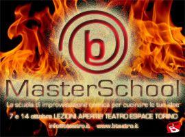 MasterSchool: limprovvisazione comica a Torino!