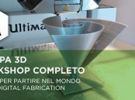 Workshop stampa 3D 14-15 Novembre 2015