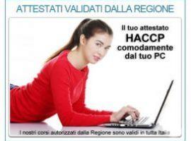 ATTESTATTO HCCP - ONLINE