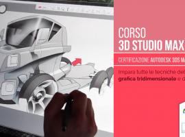Crea filmati in 3D grazie al corso 3D Studio Max & V-Ray