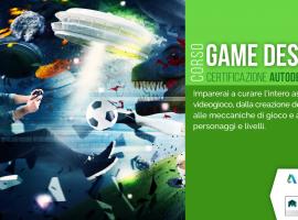 Diventa creatore di Videogames con il corso GAME DESIGNER