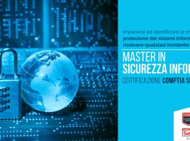 Master in Sicurezza informatica, indagini Forense, Ethical Hacker e Deep Web.