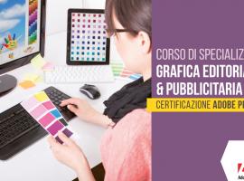 Corso in Grafica editoriale e pubblicitaria