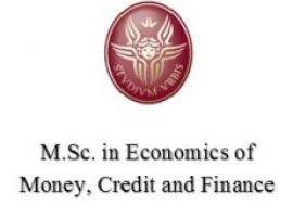 Economics of Money, Credit and Finance - Master Sapienza in lingua Inglese