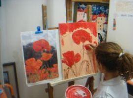 Corso di pittura e disegno a cavalletto, per bambini sopra ai 9 anni
