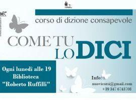 CORSO DI DIZIONE - ComeTulodici