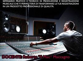 Seminario di registrazione Audio