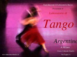 Corso di Tango Argentino con i maestri del Laboratorio Baires