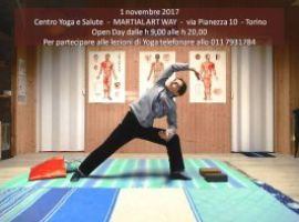 Hatha Yoga - Open Day - 1 novembre 2017 - Festeggia Halloween con noi - dalle h 9 alle h 20