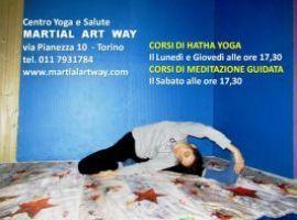 HATHA YOGA E MEDITAZIONE A TORINO - CENTRO YOGA E SALUTE MARTIAL ART WAY TORINO