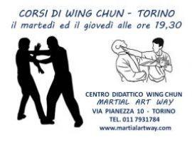 CORSI DI WING CHUN TORINO - CENTRO DIDATTICO MARTIAL ART WAY TORINO