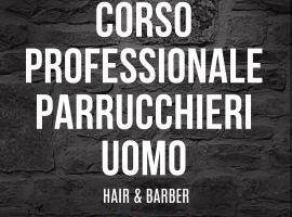 CORSO PROFESSIONALE PARRUCCHIERI UOMO - HAIR & BARBER