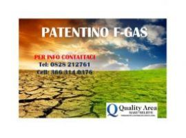 Patentino Frigorista F-GAS
