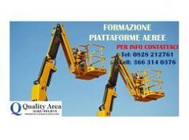 Patentino piattaforme lavoro elevabili (PLE)
