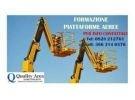 Corso di patentino piattaforme lavoro elevabili (ple)