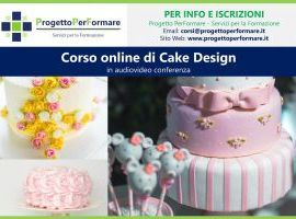 Corso online di cake design