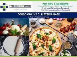 Corso online di pizzeria base