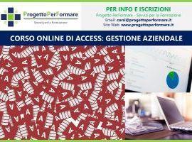 Corso online di Access per la gestione aziendale