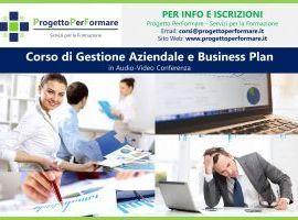 Corso online di gestione aziendale e business plan