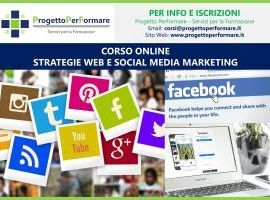 Corso online strategie web e social media marketing