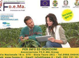 IMPRENDITORE AGRICOLO PROFESSIONALE Corso di formazione per lacquisizione di conoscenze e competenze professionali /base nella gestione di unimpresa agricola (IAP - Imprenditore agricolo professionale)