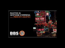 Master in Gestione dImpresa - Mercati Asiatici