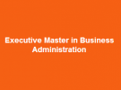 Emba coop - executive master in business administr