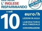 Corso inglese 10€/1h