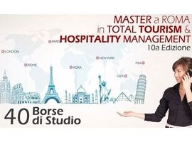 Master In Total Tourism & Hospitality Management a Roma