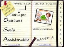 NEW: CORSO O.S.A. OPERATORE SOCIO ASSISTENZIALE