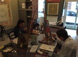 corso di pittura ad acrilico