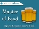 Corso Slow Food - Master of Food Birra -