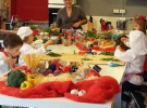 Corso di lezioni di cucina: laboratorio bambini - chef serg