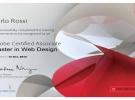 Master in grafica e web designer certificato adobe