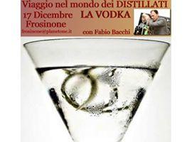 Corsi Master per Bartender Frosinone - Master One Day  Viaggio nel Mondo dei Distillati alla scoperta della Vodka con Fabio Bacchi