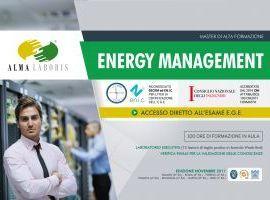 Master in Energy Management  - Riconosciuto SECEM e EN.I.C. - Accreditato CNI - ACCESSO DIRETTO ESAME EGE