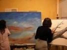 Corso di laboratori di pittura acrilico / tempera, pittura