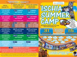 ISCHIA SUMMER CAMP 2014 - Campo estivo per bambini e ragazzi ad Ischia