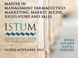 Master in Management Farmaceutico: Marketing, Market Access, Regulatory and Sales