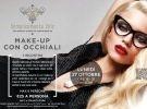 Corso di workshop di make up a torino - make-up con occhial
