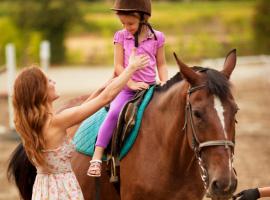 Pacchetto 10 lezioni di equitazione per bambini e ragazzi a San Raffaele Cimena - Torino